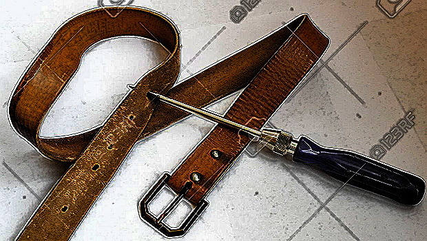 tighten one's belt